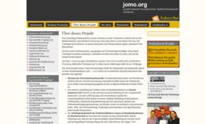 Jomo.org thumbnail
