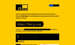 Js.org thumbnail