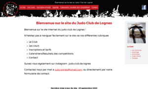 Judoclubdelognes.fr thumbnail