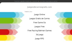 Juegosdecarrosgratis.com thumbnail