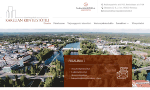 Kareliankiinteistotili.fi thumbnail