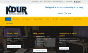 Kdur.org thumbnail