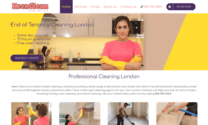 Keen-clean.co.uk thumbnail