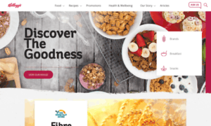 Kellogg.co.nz thumbnail