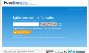 Kgforum.com thumbnail