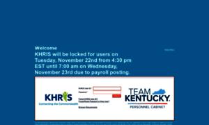 Khris.ky.gov thumbnail