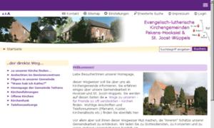 Kirche-hooksiel.de thumbnail