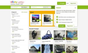 kleinanzeigen ebay de ebay kleinanzeigen kostenlos einfach lokal an