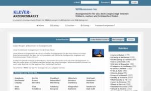 Klever-anzeigenmarkt.de thumbnail