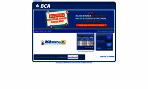 Klikbca.com: Internet Banking - KlikBCA
