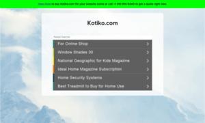 Kotiko.com thumbnail