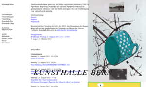 Kunsthalle-bern.ch thumbnail