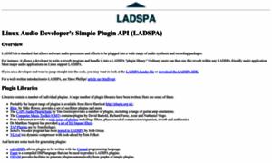 Ladspa.org thumbnail