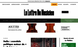 Lalettredumusicien.fr thumbnail
