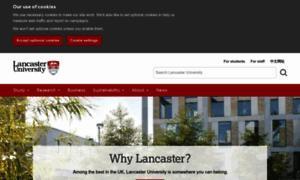 Lancaster-university.co.uk thumbnail
