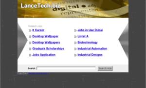 Lancetech.biz thumbnail