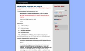 Languagelog.ldc.upenn.edu thumbnail