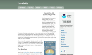 Lavallette-nj.org thumbnail