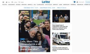 Lavozdelinterior.com.ar thumbnail