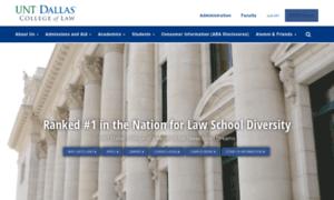 Lawschool.untsystem.edu thumbnail