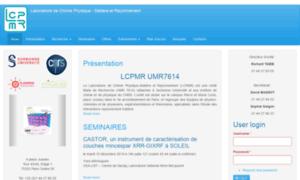 Lcpmr.upmc.fr thumbnail