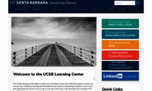 Learningcenter.ucsb.edu thumbnail