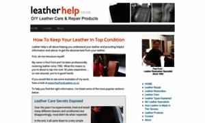Leatherhelp.co.nz thumbnail