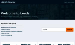 Leeds.gov.uk thumbnail