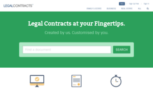 Legalcontracts.co.uk thumbnail