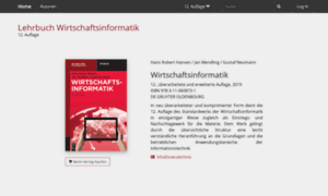 Lehrbuch-wirtschaftsinformatik.org thumbnail