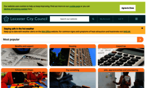 Leicester.gov.uk thumbnail