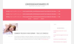 Lekiosqueauxcanards.fr thumbnail