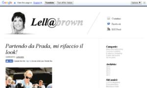 Lellabrown.net thumbnail