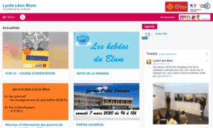 Leon-blum.entmip.fr thumbnail