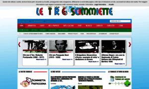 Letrescimmiette.info thumbnail