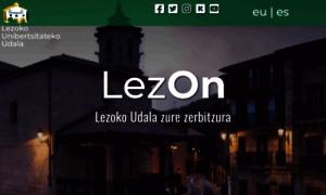 Lezo.net thumbnail