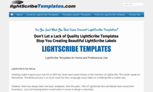 Lightscribetemplates.com thumbnail