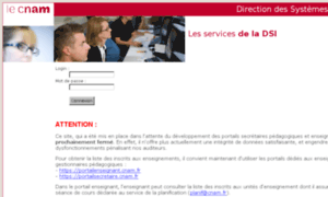Listeinscrits.cnam.fr thumbnail