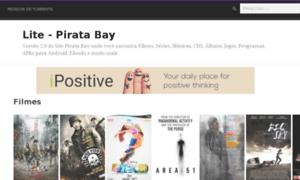 Lite.piratabay.net thumbnail