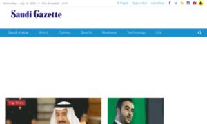 Live.saudigazette.com.sa thumbnail