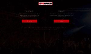 Livenation.be thumbnail