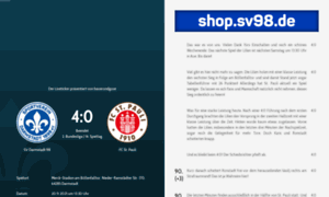 Liveticker.sv98.de thumbnail