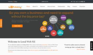 Localwebnz.co.nz thumbnail