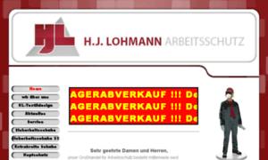 Lohmann-arbeitsschutz.de thumbnail