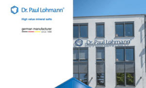 Lohmann-chemikalien.de thumbnail