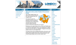 Londontenders.org thumbnail
