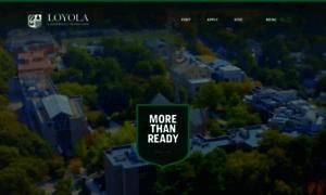 Loyola.edu thumbnail