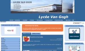 Lyc-vangogh-aubergenville.ac-versailles.fr thumbnail