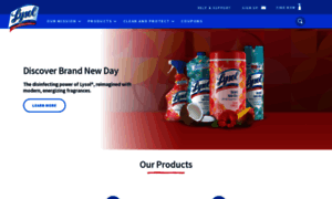 Lysol.com thumbnail