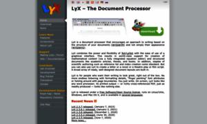 Lyx.org thumbnail